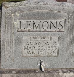Amanda Cordelia Mandy <i>Greenway</i> Lemons