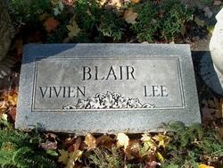Vivien Lee <i>Wilson</i> Blair