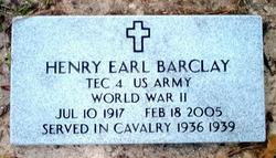 Henry Earl Barclay