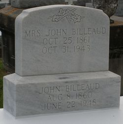 Eliza <i>Prejean</i> Billeaud