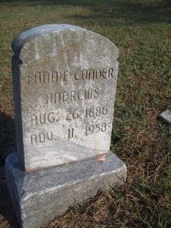 Fannie <i>Conder</i> Andrews
