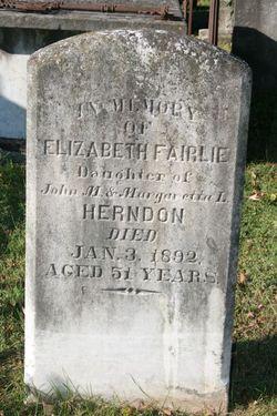 Elizabeth Fairlie Herndon