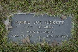 Rev Bobby Joe Puckett