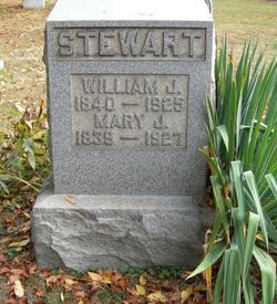 Mary J. <i>McElroy</i> Stewart