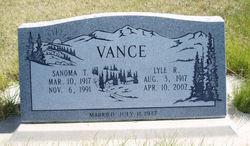 Lyle Richard Vance