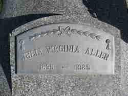Julia Virginia <i>Hayes</i> Allen