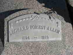 Leonard Forest Allen