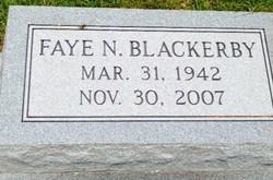 Faye Nell Nana <i>Blackerby</i> Bearden