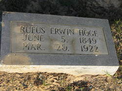 Rufus Erwin Hoge