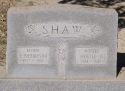 Mollie D. Shaw