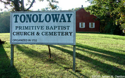 Tonoloway Primitive Baptist Church and Cemetery