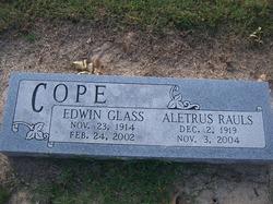 Eunice Aletrus <i>Rauls</i> Cope