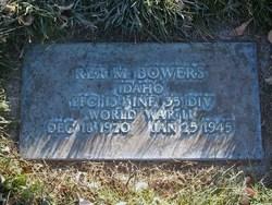 PFC Rex Merrill Bowers