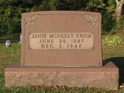 Janie <i>McNeely</i> Crum