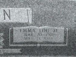 Emma Lou Granny <i>Denmark</i> Claxton