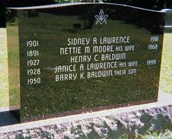 Nettie Maria <i>Moore</i> Lawrence