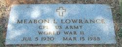 Meabon Leroy Larry Lowrance