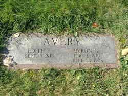 Edith <i>Foster</i> Avery