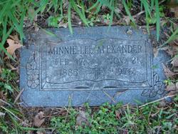Minnie Lee <i>Fields</i> Alexander