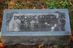 Dorsey Edsell