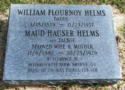 Maud Hauser <i>Talbot</i> Helms