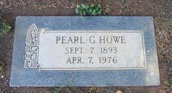 Pearl G Howe