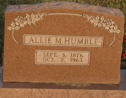 Allie M. Humble