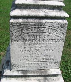 Annie Corbet <i>Iverson</i> Davidson