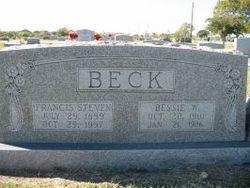 Lucinda Elizabeth Bessie <i>Woodard</i> Beck