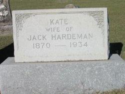 Mina Kate <i>Smith</i> Hardeman