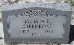Barbara E <i>Marhan</i> Greenberg