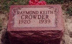 Raymond Keith Crowder