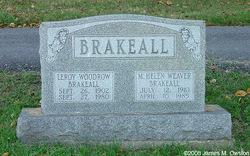 Marjorie Helen <i>Weaver</i> Brakeall
