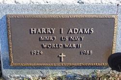 Harry I Adams