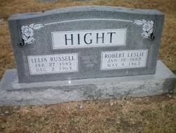 Robert Leslie Hight
