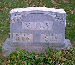 Annie M <i>Shea</i> Mills