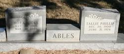 Tallie Phillip Ables