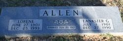 Lorene <i>Tate</i> Allen