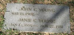 Janie Catherine <i>Fairfax</i> Young