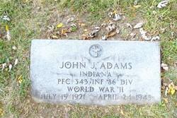 PFC John J. Adams