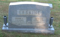 Jennie A <i>Garner</i> Erskine