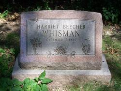 Harriet <i>Beecher</i> Whisman