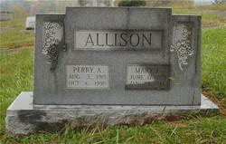 Mary E. <i>Couch</i> Allison