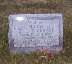 Ellen <i>Stoops</i> Anderson