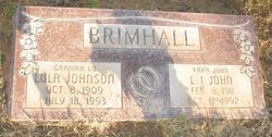 Lula <i>Johnson</i> Brimhall