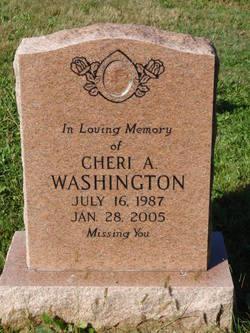 Cheri A Washington
