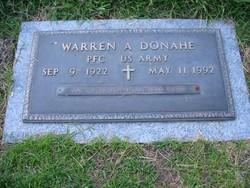 Warren A Donahe