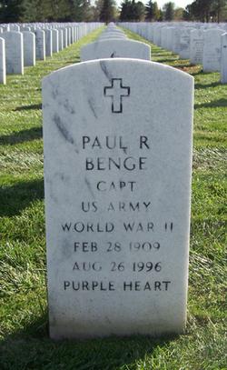Paul R Benge