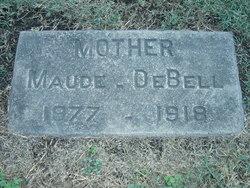 Maude <i>Evans</i> DeBell