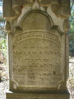 Aaron B Burleson